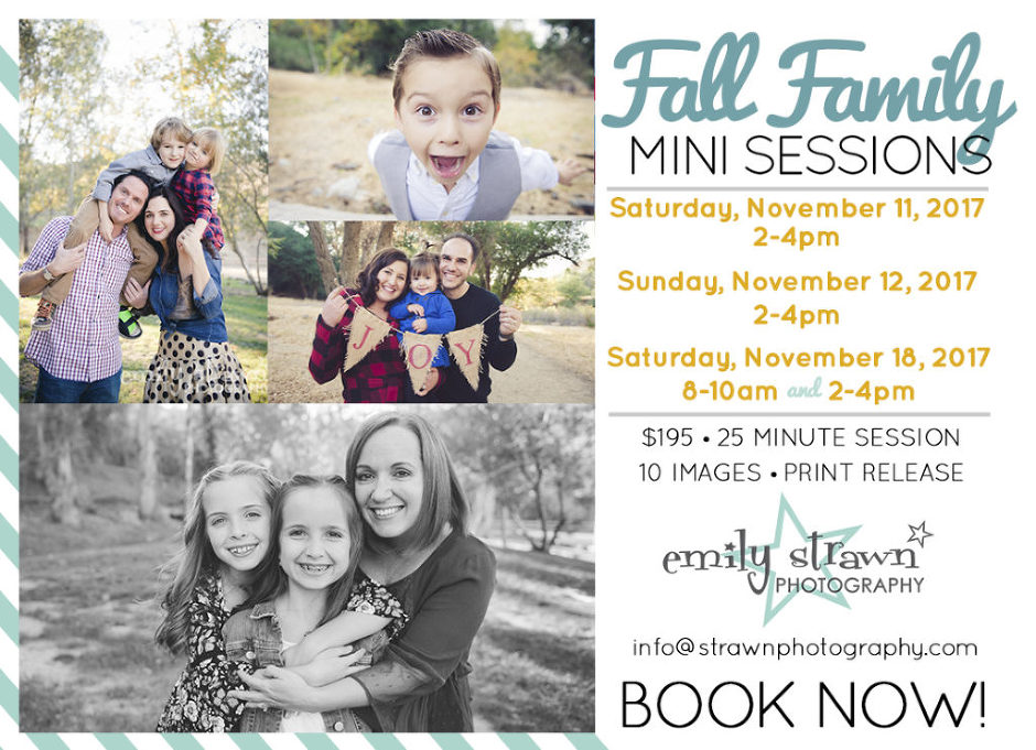 strawn photography mini session